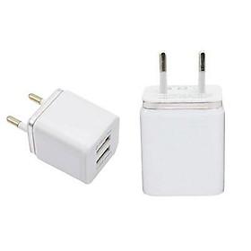 Universal Travel 5V 2.1A 2Port USB AC Wall Home Charger Power Adapter EU/US Plug