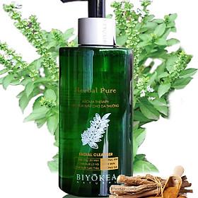 Gel Rửa Mặt Cho Da Thường Biyokea Herbal Pure 320ml