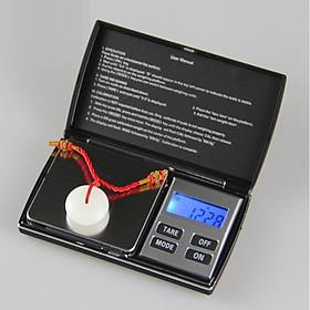 Cân tiểu ly điện tử nhà bếp tải trọng 1kg/0,1g DH-C01 dùng trong sản xuất, chế biến, y học, mỹ phẩm ( 6 đơn vị đo chuyển đổi - Tặng kèm móc khóa tô vít đa năng )