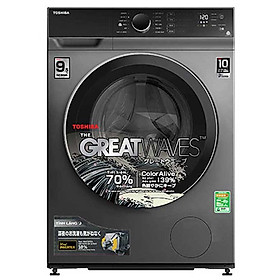 Máy giặt Toshiba Inverter 9.5 kg TW-BK105M4V(SK) lồng ngang-Hàng chính hãng - Giao tại HN và 1 số tỉnh toàn quốc