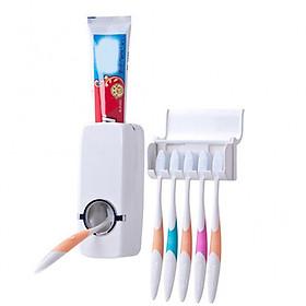 Bộ Dụng Cụ Lấy Kem Đánh Răng Tự Động Giá Treo Đỡ Kem Đánh Răng Touch Me