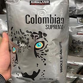 Kirkland Signature Columbian Whole Coffee Beans 1.36kg