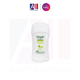 Lăn khử mùi Simple Kind To Skin Soothing Anti Perspirant 40ml