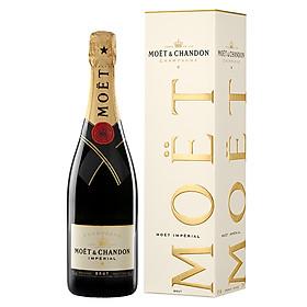 Rượu Champagne Moët & Chandon Imperial Brut 750ml 11.5% - 13.5% - Có hộp