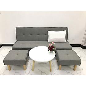 Bộ sofa bed 1m7x90 sofa giường phòng khách sivali4 sopha salon