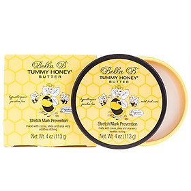 Bơ Đậm Đặc Ngăn Ngừa Rạn Da, Sáng Da Mờ Thâm Dành Cho Mẹ Bầu Và Sau Sinh Bella B Tummy Honey Butter Hũ 113gr - Chăm Sóc Làn Da Mẹ Bầu Và Sau Sinh
