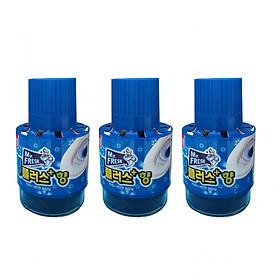 Combo 3 chai tẩy diệt khuẩn bồn cầu, toilet Hương Lavender Mr.Fresh Korea 180g