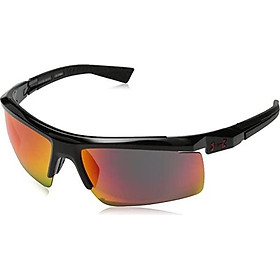 Under Armour Men's Core 2.0 Sunglasses Shiny White / Gray Orange Multiflection Lens 69 mm