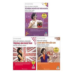 Combo 3 Bộ Sách Tiếng Anh Cô Mai Phương (tặng sổ tay mini dễ thương KZ)