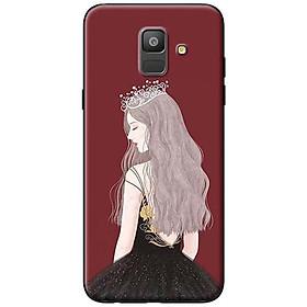 Hình đại diện sản phẩm Ốp Lưng Dành Cho Samsung A6 2018 Nữ Hoàng