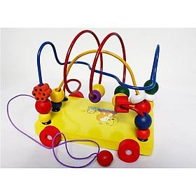 Đồ chơi luồn hạt mê cung - đồ chơi trí tuệ BK131