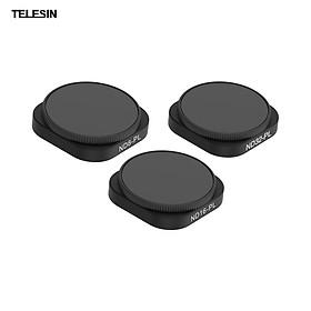 TELESIN 3-in-1 ND8/16/32-PL Filter Lens Kit Replacement for GoPro Hero 9 Black