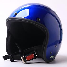 Hình đại diện sản phẩm Mũ Bảo Hiểm 3/4 Chita Sơn Bóng (Xanh Tiger) - Size M