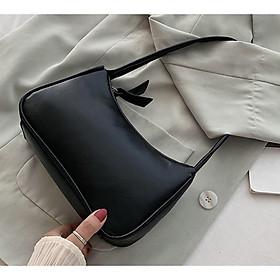 Túi đeo vai nữ, kẹp nách da mềm trơn siêu xinh PK 433
