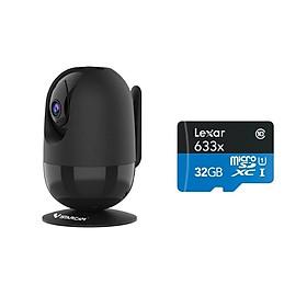 Camera IP Wifi VStarcam C48s 2.0 - Full HD 1080p , Lắp trong nhà , camera không dây , Kèm thẻ nhớ 32GB A1 Lexar  - Hàng chính hãng