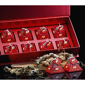 Trà Lá Sâm Ngọc Linh K5 (Hộp 10 Gói)