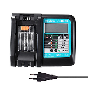 14.4V 18V 3A Charging Current Replacement Battery Charger for Makita