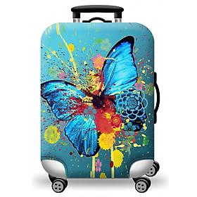 Hình đại diện sản phẩm Túi bọc vali họa tiết hình ảnh sơn dầu