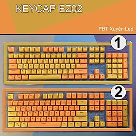 Keycap PBT Xuyên Led EZPC Giá Rẻ