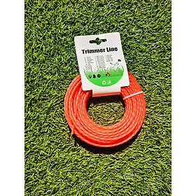 Cước cắt cỏ 3,5mm đỏ