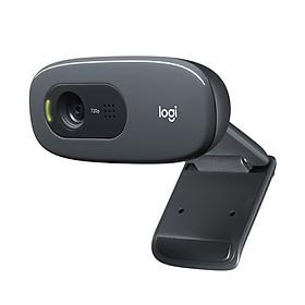 Xiaomi Logitech C270 HD Webcam 720P Video Card Webcam 720P Optical Lens Noise Reduction Micophone USB2.0 Plug And Play