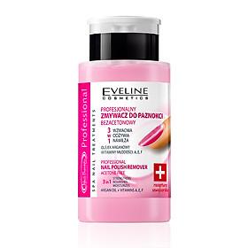 Nước Tẩy Và Dưỡng Móng 3 Trong 1 EveLine Professional Nail Polish Remover