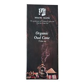 Trầm nụ Hoàng Giang - Trầm hương nguyên chất,nguyên liệu thiên nhiên, không chất độc hại,hương trầm tự nhiên  - Hộp 24 nụ