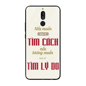 Ốp lưng dành cho điện thoại Huawei Nova in họa tiết Nếu muốn bạn sẽ tìm cách