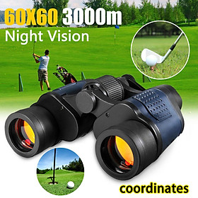 60x60 Day/Night Telescope Zoom Ultra HD Binoculars for Hunting Camping