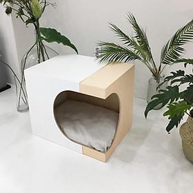 Nhà gỗ hiện đại cho chó mèo #DH002