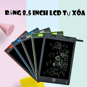 Bảng viết, bảng vẽ điện tử thông minh LCD tự xóa 8.5 inch có khóa màn hình