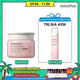 Kem dưỡng ẩm làm sáng chống nắng cho da innisfree Jeju Cherry blossom Tone-up cream SPF30 PA++ 50ml - 131172154