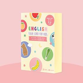 Flashcards Tiếng Anh theo chủ đề cho trẻ 0 - 6 tuổi