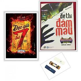 Combo 2 cuốn Độc Giả Thứ 7+ Đề Thi Đẫm Máu (Tặng kèm bookmark )