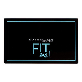 Phấn Nền Kiềm Dầu Chống Nắng Tiệp Mọi Tông Da SPF 32 PA+++ Fit Me Skin-Fit Powder Foundation Maybelline New York 9g-1