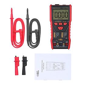 SMART SENSOR Dial Measuring Multimeter LCD Display NCV Mode HFE/NPN/PNP High Precision Multifunctional Small Multimeter