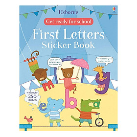 Usborne First Letters Sticker Book