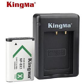 Combo 1 pin 1 sạc đôi Kingma for Sony NP-BX1 – Hàng chính hãng