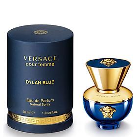 Nước Hoa Nữ Versace Pour Femme Dylan Blue - Eau De Parfum (30ml)