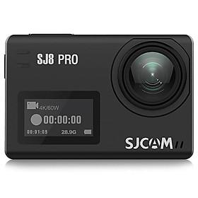 Camera Hành Trình SJCAM SJ8 Pro 4K Wifi - Hãng Phân Phối Chính Thức - Đen
