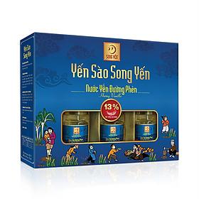 Nước Yến Đường Phèn Hương Vanilla Song Yến (Lốc 6 x 70ml)