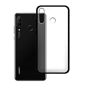 Ốp lưng Huawei P30 Lite - Bề mặt nhám chống vân tay, lưng cứng, viền TPU dẻo - 02103 - Hàng Chính Hãng