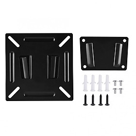 TV Mount Wall-mounted Stand Bracket Holder for 12-24 Inch LCD LED Monitor TV PC Flat Screen VESA 75/100 LCD LED TV Wall Mount