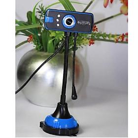Webcam chân cao có Mic hỗ trợ 3 đèn- Hàng nhập khẩu