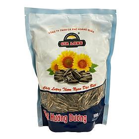 HẠT DƯA / HẠT BÍ / HẠT HƯỚNG DƯƠNG thương hiệu Gia Long túi 500g (ăn vặt, biếu tặng mùa Tết)