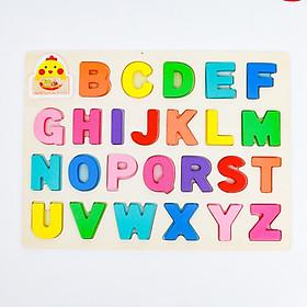 Bảng chữ cái tiếng việt gỗ