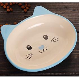 Chén Ăn Bằng Sứ Cho Mèo - Bát Ăn Kiểu Dáng Dễ Thương (Loại 2)