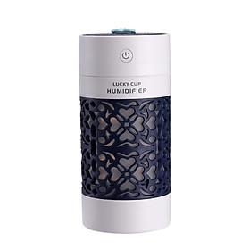 Máy Phun Sương Tạo Ẩm Để Bàn 250ml LuckyCup Kiêm Đèn Trang Trí Phong Thủy Phù - Hợp Nhiều Không Gian Trong Gia Đình