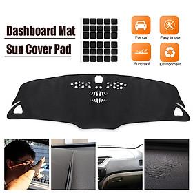 Car Dashmat Dashboard Sun Mat Cover Pad For Chevrolet Malibu 2016 2017 2018