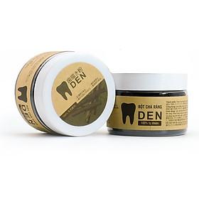 Combo 02 hộp Bột chà răng Răng Đen - Sạch cao răng, hết ố vàng làm răng trắng sáng - 100% thành phần từ thiên nhiên
